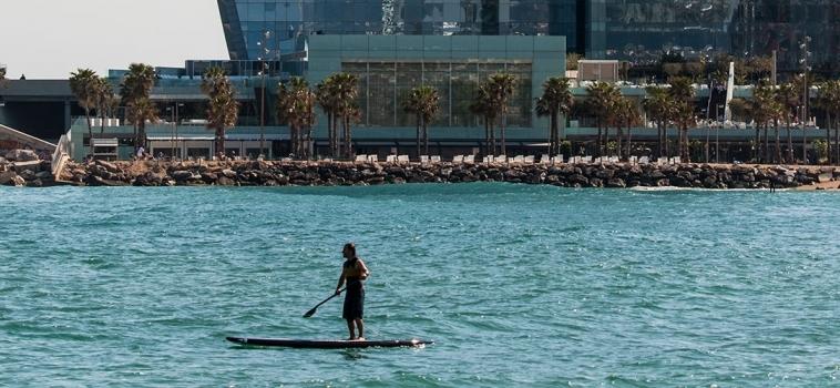 Condicions esportistes federats per a practicar de surf a la fase 0 del desconfinament.